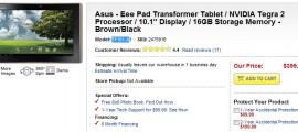 Asus Eee Pad Transformer Tablet Best Buy