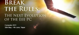 Asus Break the Rules Computex 2011