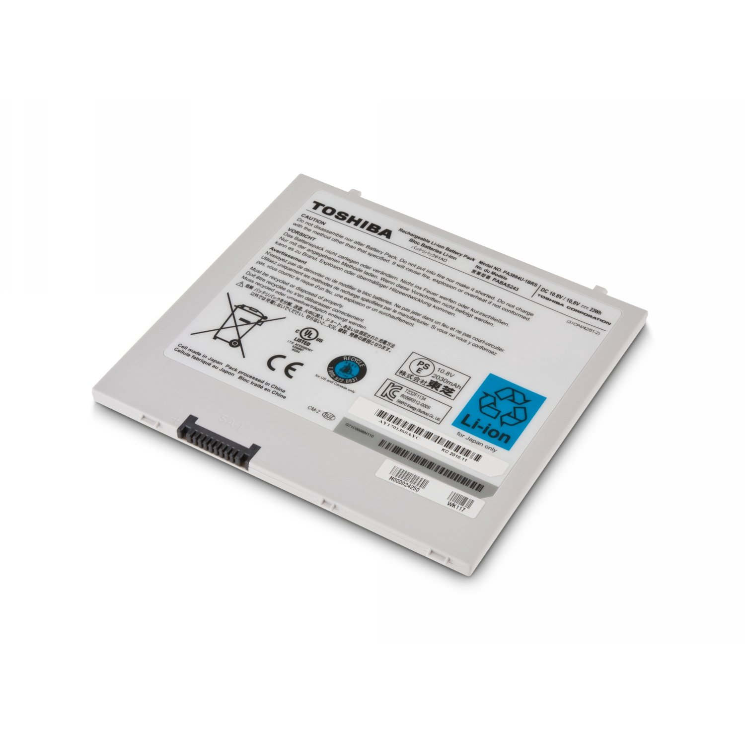 """Genuine Docking Port Cover For 10.1/"""" Toshiba Thrive AT105"""