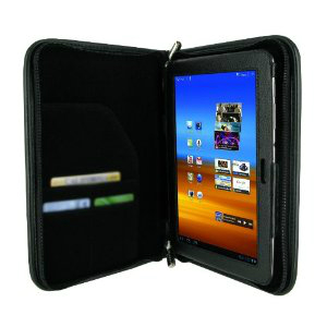 rooCASE Executive Portfolio Leather Case Cover